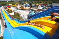 Aqua Park Spiral Slide Water Park Equipment / Water Funny Game For Adults