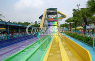 Custom Huge Race Water Slide Water Park for Summer Entertainment and Water Fun Games