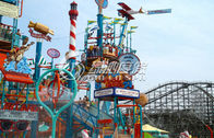 Commercial Holiday Resort Aqua Playground Water Park Equipment For Water Theme Park