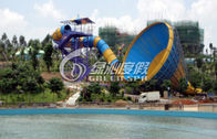 Medium Fiberglass Tornado Water Slide Hurricane Aqua Slides for Swimming pool Funny game