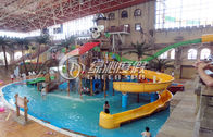 Commercial Outdoor Water Park Construction Fiberglass Children Aqua Park Equipment